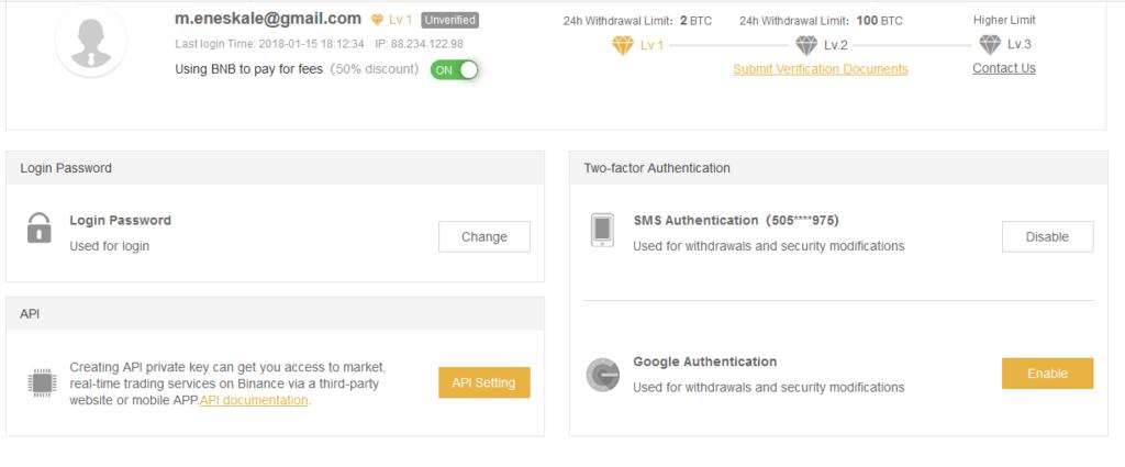 En iyi Bitcoin Borsası Binance 1