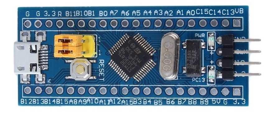 STM32F103 1602A LCD Bağlantısı 2