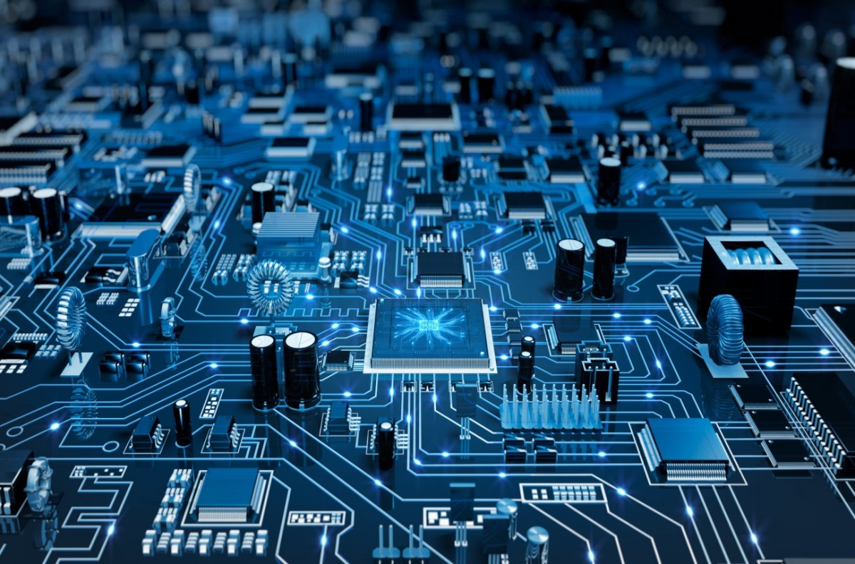 Elektronik Arka Plan