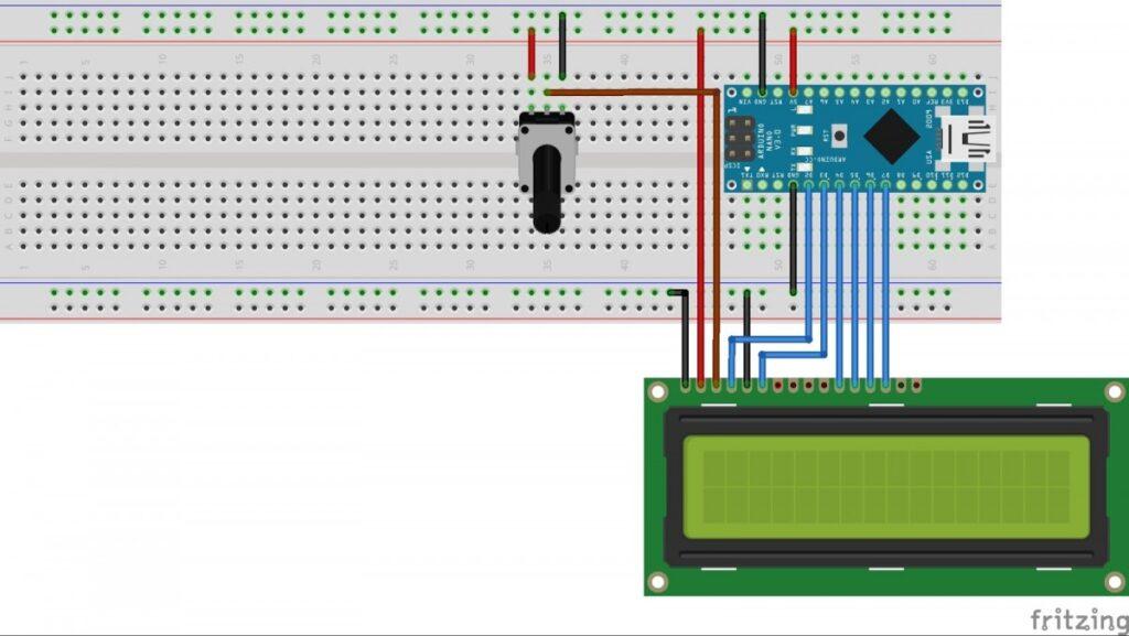 Arduino LCD Kullanımı 1