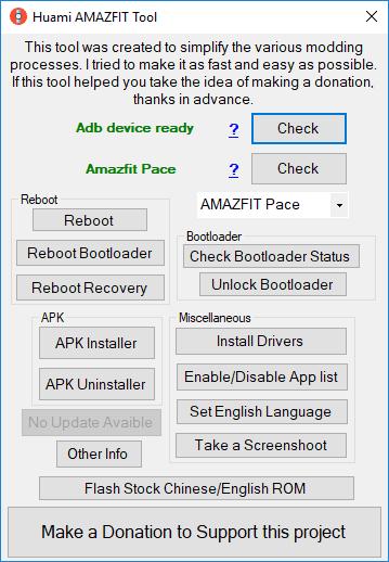 Xiaomi Amazfit Pace Apk Yükleme 1
