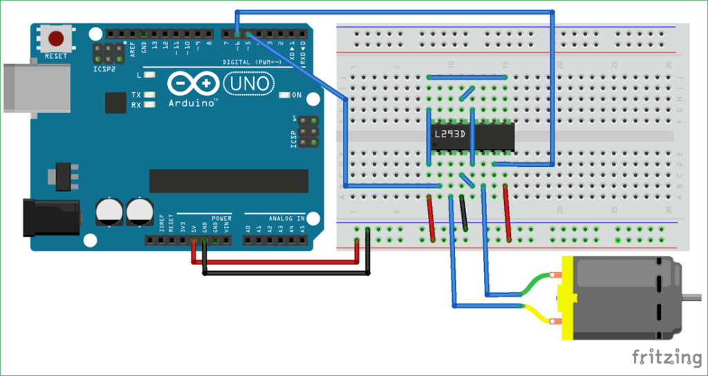 Circuit-Diagram-for-DC-Motor-Control-Using-MATLAB-and-Arduino
