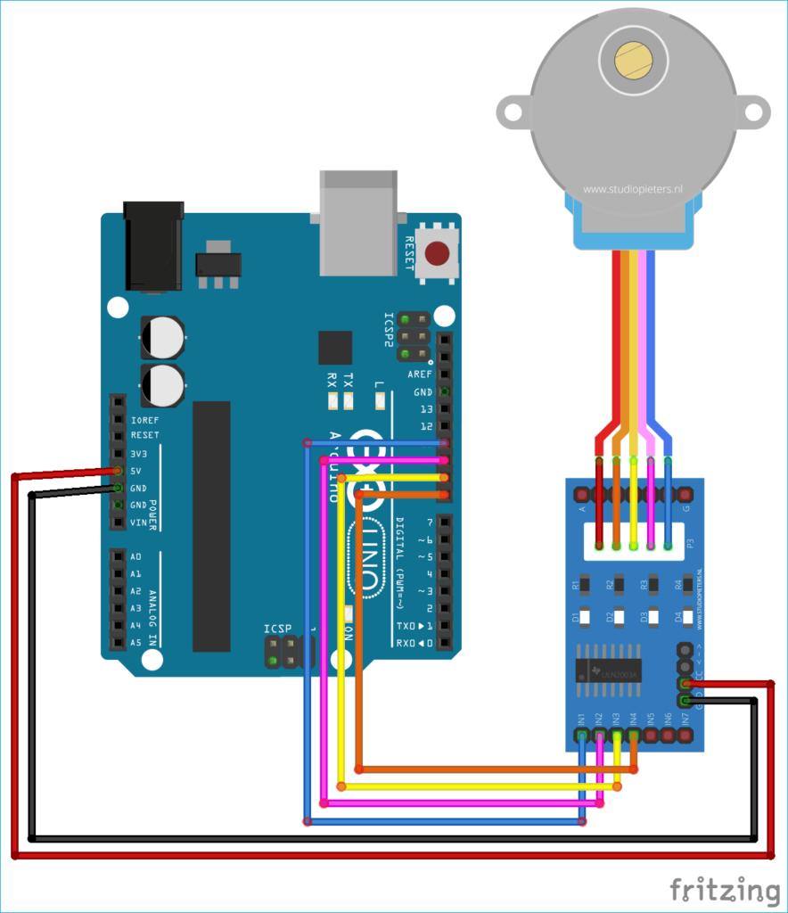 MATLAB ile Arduino kullanarak Step Motor Kontrolü 8
