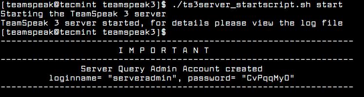 CentOS 7'de TeamSpeak Server Nasıl Kurulur ? 1